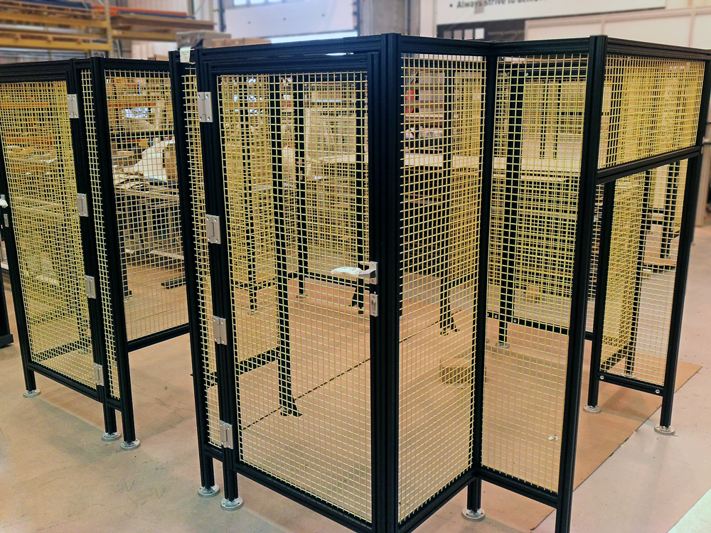 Kanya machine guards safety barriers photo 1