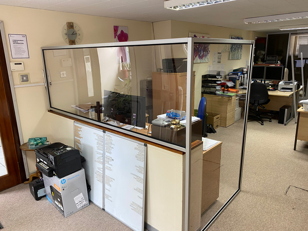 Kanya partitions internal office protective office screen system photo