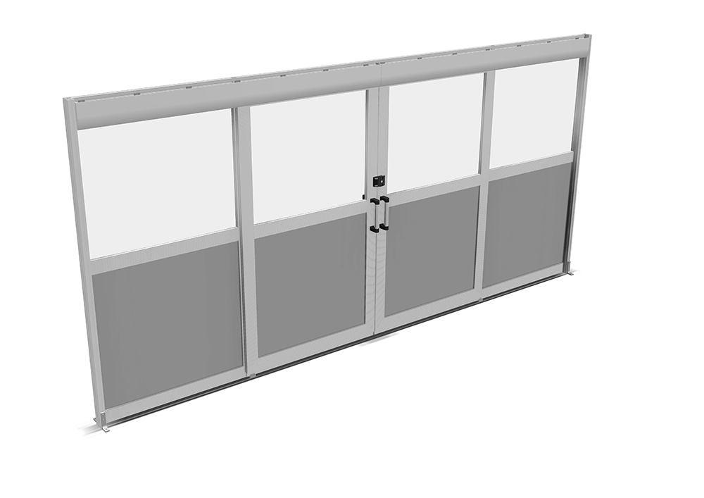 Kanya partitions render example partitions with sliding door 1000px