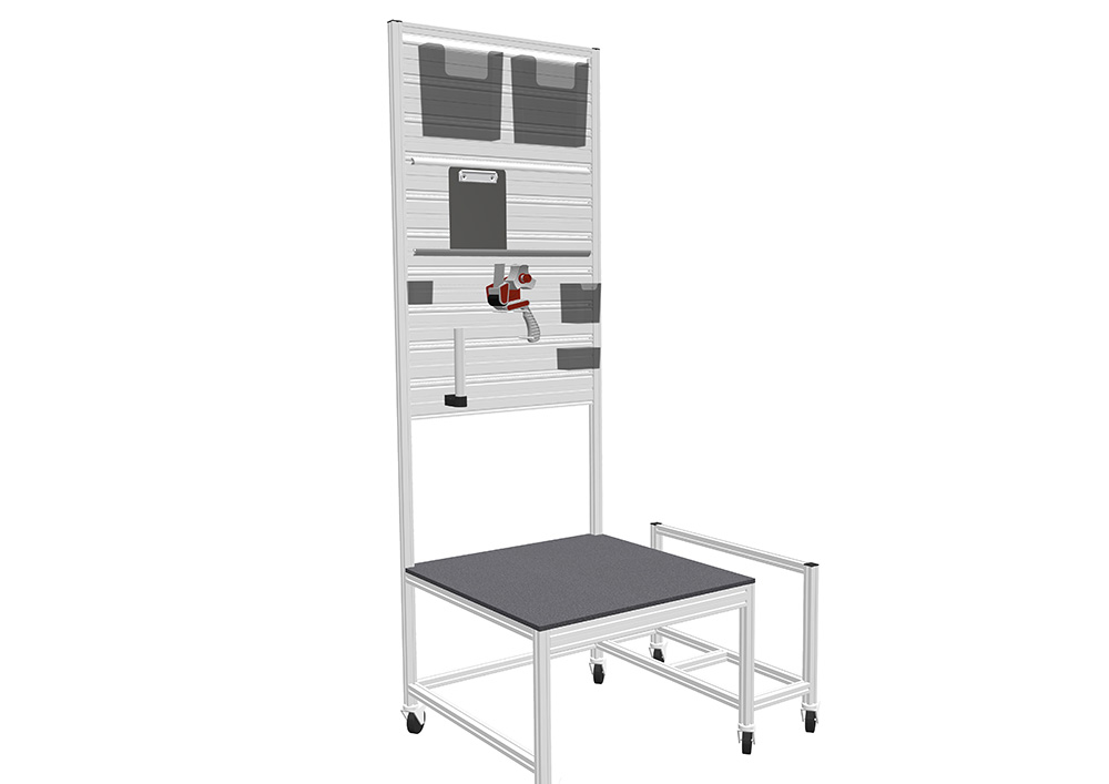 Kanya trolleys render example tool station 1000px