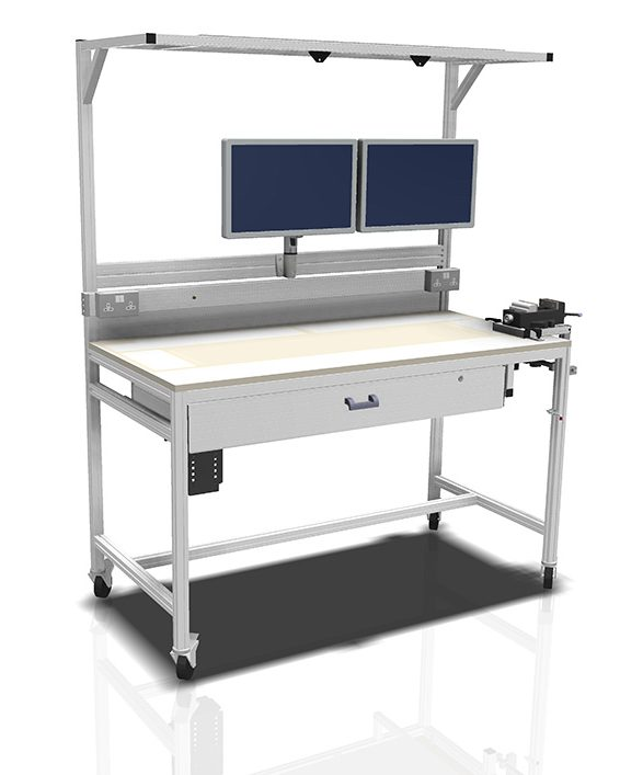 Kanya workbenches render example height adjustable workstation 1000px 1 e1595852499550
