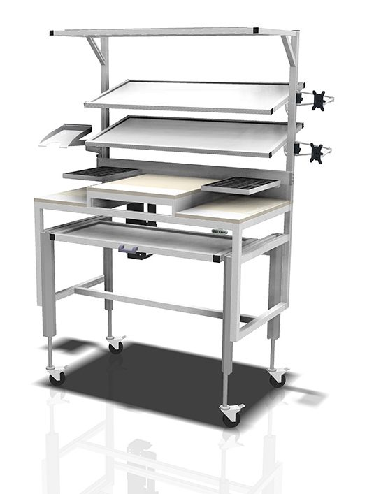 Kanya workbenches render example workstation with shelving and table areas 1000px 2 e1595852294905